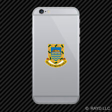 Tuvaluan Coat of Arms Cell Phone Sticker Mobile Tuvalu flag TUV TV