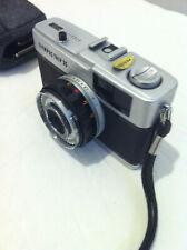 Olympus Trip 35 mm film fotocamera analogica compatta+Copri Obiettivo e Custodia