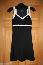 NWT Nike Classic Black & White Women's, Girls, Teen, XS Tennis Dress-Dri-Fit-Bra