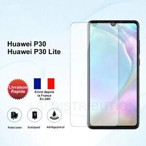 Verre trempé Huawei P30 Huawei P30 Lite vitre film protection écran