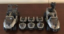 Halo Mega Bloks UNSC Custom Desert Vehicle builder lot. (adult owned) LAST ONE!
