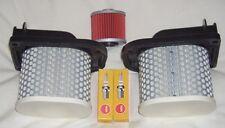 Service Kit- Plugs Air & Oil Filter for YAMAHA XTZ XTZ750 Super Tenere 1990-97