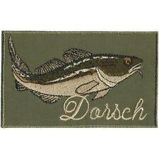 empiècement à coudre Patches Application turquoise des armoiries motif poisson