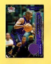 """2002/03 Fleer Ultra VINCE CARTER Game Used Jersey Card """"O"""" Raptors"""