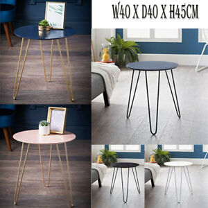 Hairpin Leg Side Table Coffee Table Contemporary Table Metal Legs Home Office