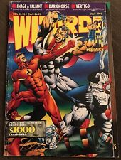 Wizard Magazine 23 JULY 1993 Image Valiant Solar Bloodshot Dark Horse Vertigo