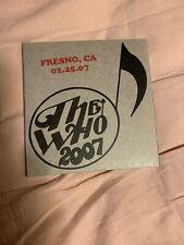 The Who Encore Series Fresno Ca 02-25-07 2 CDs