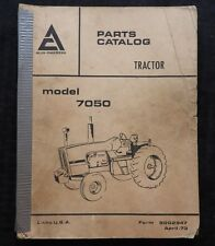 GENUINE 1973 ALLIS CHALMERS MODEL 7050 TRACTOR PARTS CATALOG MANUAL