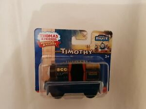 Thomas The Tank Engine & Friends WOOD TIMOTHY TRAIN WOODEN NEW BOX FISHER PRICE