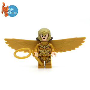 Genuine Lego Wonder Woman 1984 Minifigure (sh634) with Accessory from 76157