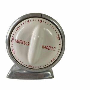 Vintage MIRRO MATIC 1 Hr Kitchen Timer - Aluminum
