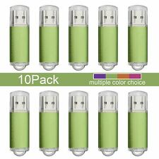 10pcs Rectangle Model 8GB USB 2.0 Flash Drive Thumb Memory Stick Flash Pen Drive