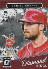 2017 DONRUSS OPTIC DANIEL MURPHY 2B NATIONALS #30 DIAMOND KINGS SP