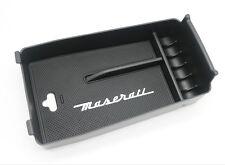 Custom Design Armrest Storage Organizer For Maserati Quattroporte Ghibli Levante