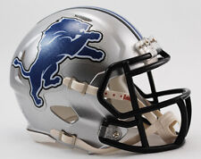 Detroit Lions Replica Speed Mini Helmet from Riddell,NFL Football Helm 1:2,NEU