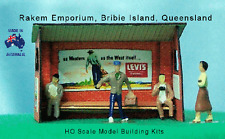 HO Scale Bus Stop Shelters x 6 Model Railway Building Kit - REBS1A