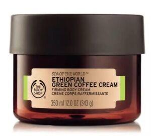 The Body Shop Spa of the World Ethiopian Green Coffee Firming Body Cream 350ml.