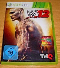 Wwe12-w12 xbox360/Xbox 360 juego-juego maravilloso