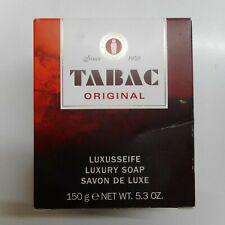 MÄURER + WIRTZ TABAC ORIGINAL 150g Luxusseife Soap NEU/OVP Rar Vintage 51