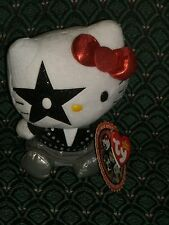 Ty Beanie~ HELLO KITTY ~ STARCHILD (Paul Stanley) ~fm the Rock Band KISS ~ MWMT