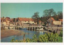 Blakeney Quay Norfolk Old Postcard 541a