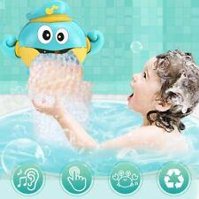 Spielzeug Kinder Baby Bubble Badewanne Krabbe Automatische Dusche Bad Musik