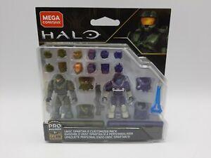 Mega Construx Halo - UNSC Spartan III Customizer Pack [GLB76] NEW!! SEALED!!