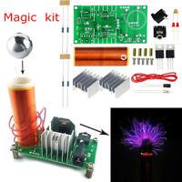 DIY Kit Mini Tesla Coil Plasma Speaker Set Electronic Field Music Project P W bn