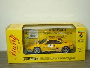 Ferrari 348 Challenge 1993 Paolo Rossi - Bang 9305 Italy 1:43 in Box *53470