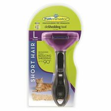FURminator Deshedding Tool for Large Cats - Short Hair