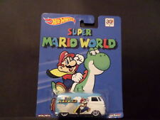2015 HOT WHEELS SUPER MARIO WORLD VW T1 PANEL BUS  HW HOTWHEELS  REAL RIDER VHTF