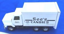 GB Ertl 1995 See's Candies International Candy Shop Delivery Truck Steel Body