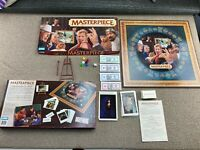 Parker Brothers MASTERPIECE The Classic Art Auction Board Game 1996 VTG