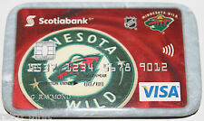 Minnesota Wild Scotiabank Canada Visa Promotional Pin Magnet Attachment