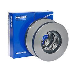 Fits VW Golf MK7 2.0 GTD Genuine OE Quality Brakefit Rear Solid Brake Discs Pair