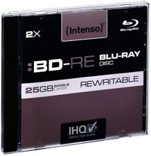 Intenso Blu-Ray Disc Intenso BD-RE 2x (25GB) 5er Case Rohlinge