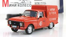 "IZH-2715 Service life 1985 ""Municipal cars USSR"" New 1:43 DeAgostini #16"