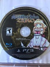 RECORD OF AGAREST WAR ZERO PS3 PLAYSTATION 3 CASE & DISC ONLY