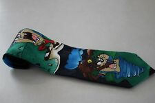 Looney Tunes Mania Men's Golf Play Tazmanian Devil Taz Tie Neck Tie Warner Bros