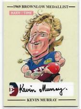 2017 Harv Time BROWNLOW SKETCH Signature Kevin MURRAY Fitzroy Ltd Ed. 22/69