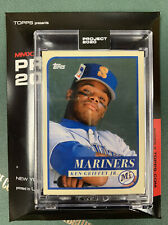 TOPPS PROJECT 2020 #127 KEN GRIFFEY JR. RC by OLDMANALAN - NEW W/ Box - In Hand