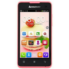 "Cheap Lenovo A396 4.0"" Android 2.3 SmartPhone Dual Sim Quad Core 3G WCDMA Pink"