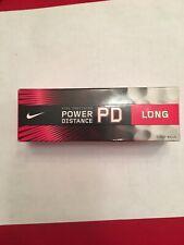 New Nike Precision Golf Balls Pd Long Box of 3 White Balls Power Distance Nib
