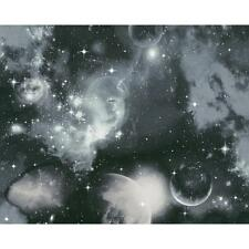 AS Creation Space Planets Stars Childrens Wallpaper Glow in the Dark 340662
