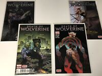DEATH OF WOLVERINE #1 -#4 RULL RUN LOT MARVEL COMIC BOOK CHARLES SOULE