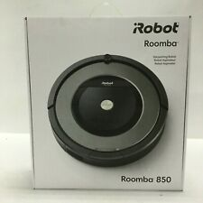 iRobot Roomba 850 Robotic Cordless Bagless Vacuum with Scheduling Feature Black