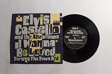 ELVIS COSTELLO I Want To Be Loved 45 F-Beat XX-35 UK 1984 VG++ PICTURE SLEEVE B6
