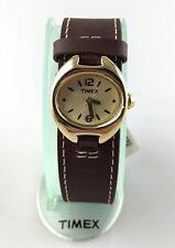 OROLOGIO TIMEX T-79761 DONNA QUARZO CINTURINO PELLE QUARZO WR10 ATM LINEA RETRO