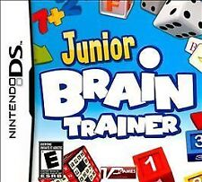 Junior Brain Trainer NEW factory sealed for Nintendo DS system