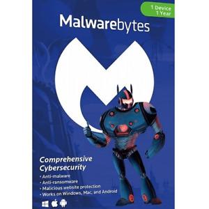 Malwarebytes Premium 2021 Original Box - Original CD and Product Key